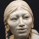 Sacagawea Sculpture finished and at moldmaker's